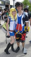 Lucy y Sora Cosplays by Moskita