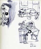 Sketches 6-4-2012 2 by spongefox