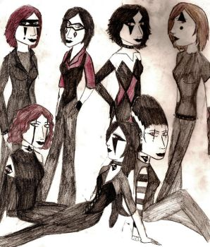 7 deadly sinners by Harlequin89