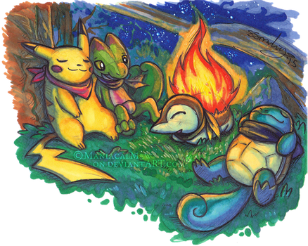 Camp Out by ManiacalMew