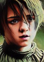 Game of Thrones - Arya Stark by Trev--Murphy