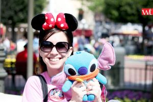 disneyland - caty with stitch by wilsontang
