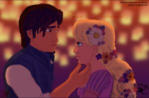 Tangled: They See The Light by beekay84