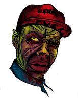 Tyler The Creator: Zombie by ArtOnBoyFlesh