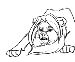 Animated Lion by BellalyseWinchester