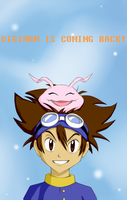 Digimon is coming back! by Axcelaw