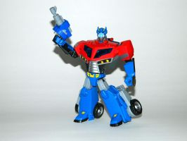Toy Family - Optimus Prime 1 by LinearRanger