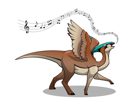 Song of the Parasaurolophus by Bueshang