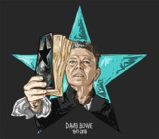 David Bowie by vervex