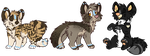 Puppy Adopts 2 :OPEN: by PilusAdopts