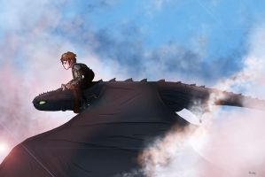 Above the clouds by Rhosgobel-Rabbit