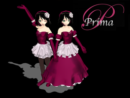 MMD Prima Models by TwilightAnimeLife