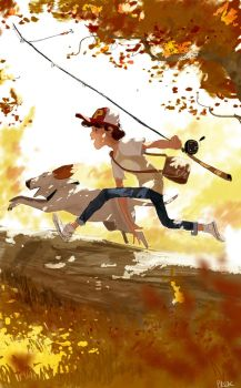It was 1980 something  the summer when.. by PascalCampion