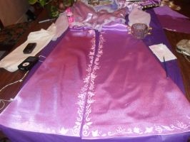 Rapunzel Skirt WIP by WickedLover010