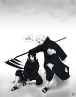 Konan x Hidan by antonique