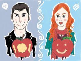 Wholock: Apples by DaleksinWonderland