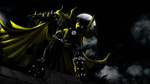 Spawn Yellow Lantern by 666Darks