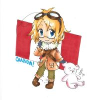 APH: Canada chibi by Photonmode