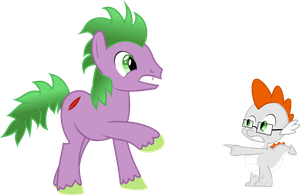 REQUEST: Spike and Quicksilver swapped by Exbibyte