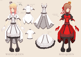 Queen Alice Dress by Asuyaa