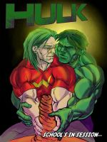 Hulk and Dr Sampson Righteous Brothers by thecreatorhd