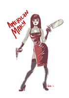 American Mary Sketch by quotidia