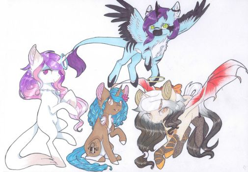 Unicorn Squad ~ Contest Entry by Emypony