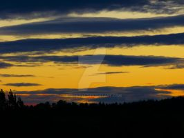sunset in cookley by Breeny38