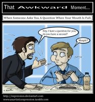That Awkward Moment: Mouth Full by Expression
