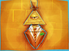 Bill Cipher by Exunary
