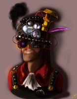Steampunk Engie by Konnestra