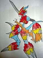 Flamedramon Original by Tabs2505