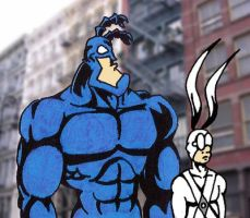 The Tick And Arthur by Naryx