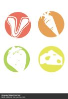 Grocery Store Icon Set by Solaris07