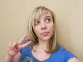 Funny Peace Sign by PeaceLover321