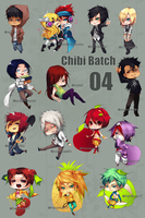 Chibi Batch 04 by Iiely
