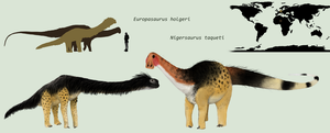 Small Sauropods by PLASTOSPLEEN