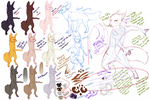 RoD: Alluvix Concept Sketches I by PaintedCricket