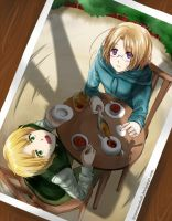 Hetalia - Teatime Interruption by FrozenSeashell