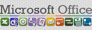 Microsoft office custom icons by gorganzola1