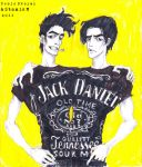 Jack and Daniel by OINER