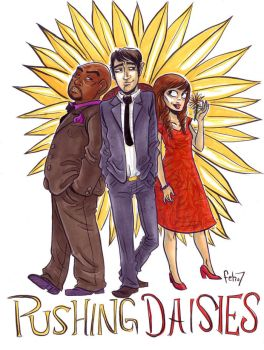 Pushing Daisies by damnskippy