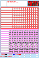 Heart Chart for DID City by SuperTailsHero