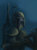 Boba Fett the Bounty Hunter by Raikoh-illust