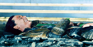 The Avengers Gag Reel: Tom Hiddleston/Loki by chiaratippy