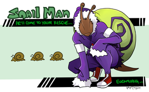 Snail Man by TheK40