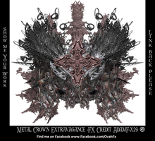 Metal Crown Extravagance Fx  - G Adam Orosco by ArtwithoutabrushFx