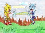 Battle of the Super Sonic Sexes by Zoe-the-Pink-Ranger