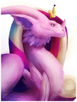 Princess Cadance Dragon by Essence-Of-Rapture