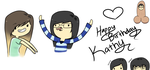 Happy Birthday Kathy! by Peapup